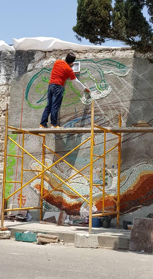 Mosaic Wall-13-051116