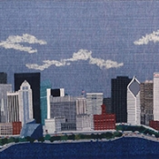Chicago Skyline by Sally Schoch