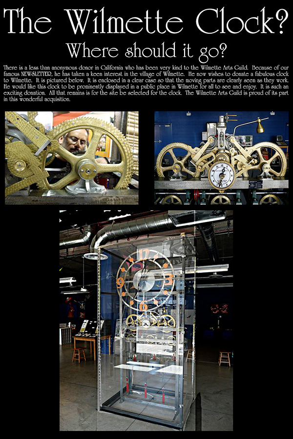 The Great Wilmette Mechanical Clock