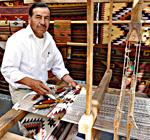 Zenon Hipolito, master weaver