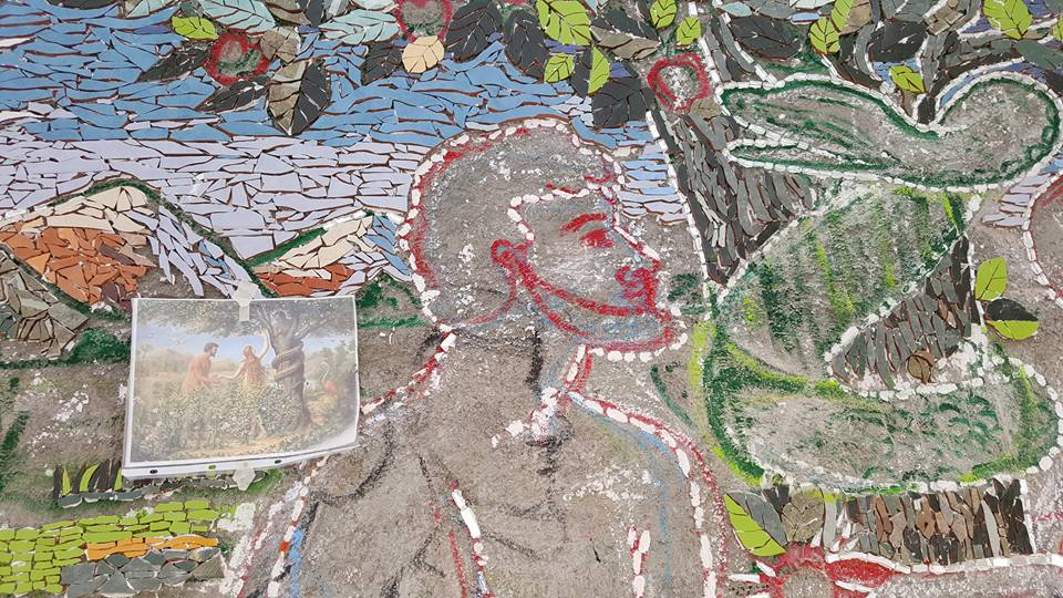 Mosaic Wall-02-05/11/16
