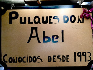Pulque-sign